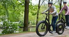 Kick Bike in Center Parcs Bispinger Heide