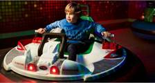 Bumper Cars in Center Parcs De Huttenheugte