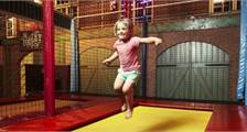 Trampolin in Center Parcs De Huttenheugte
