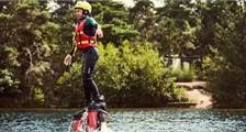 Flyboard in Center Parcs De Vossemeren