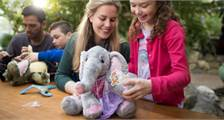 Kids Workshop: Bastele dein eigenes Stofftier in Center Parcs De Vossemeren